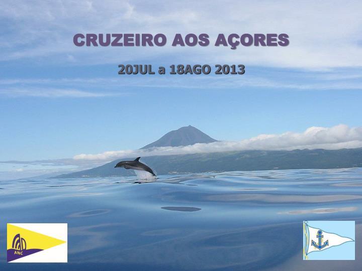 CRUZEIRO AOS AÇORES