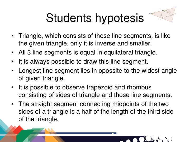 Students hypotesis