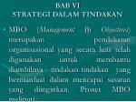 bab vi strategi dalam tindakan