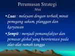 perumusan strategi misi
