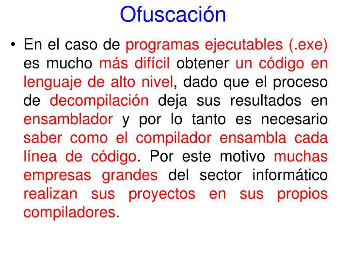 Ofuscación