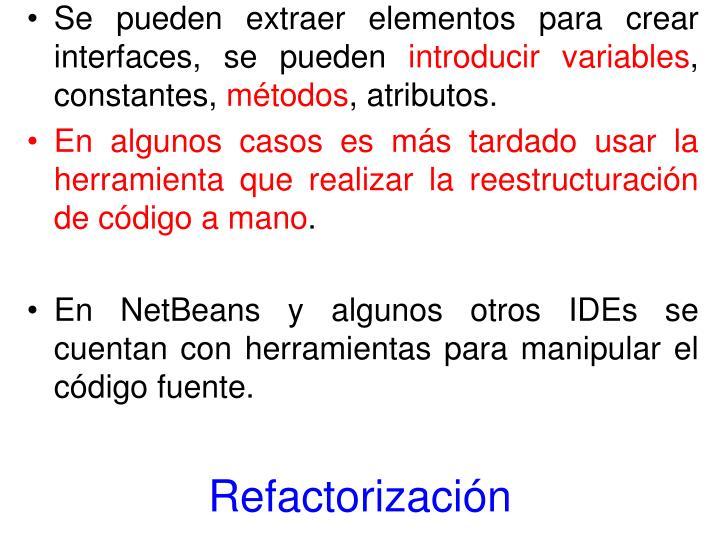 Refactorización
