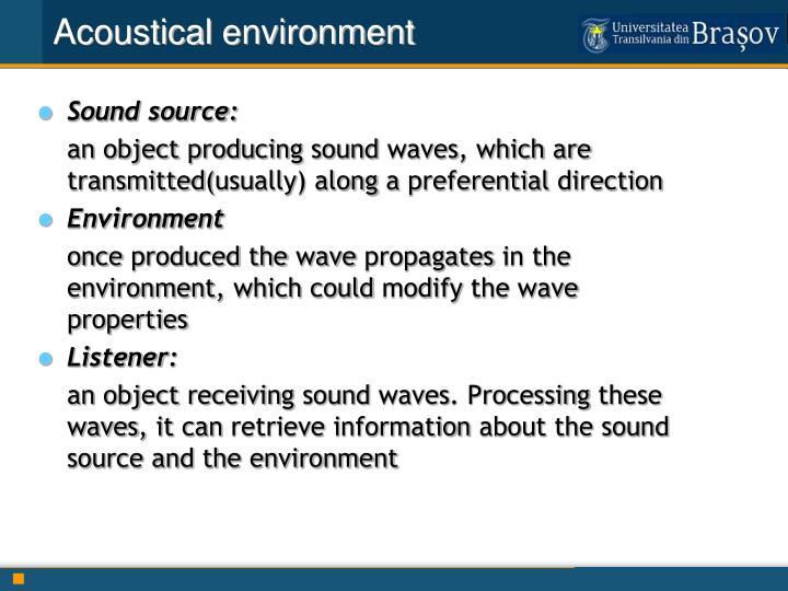 Acoustical
