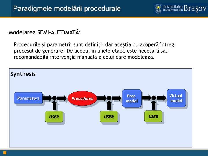 Paradigmele modelării p