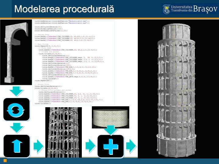Modelarea procedurală