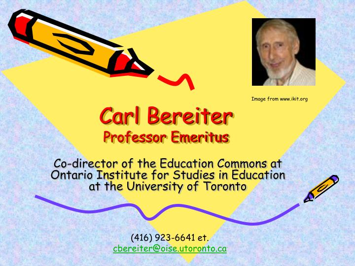 Carl Bereiter