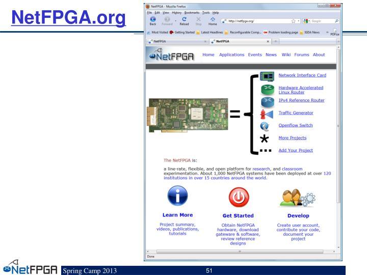 NetFPGA.org