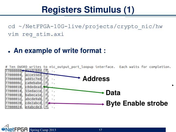 Registers Stimulus (1)