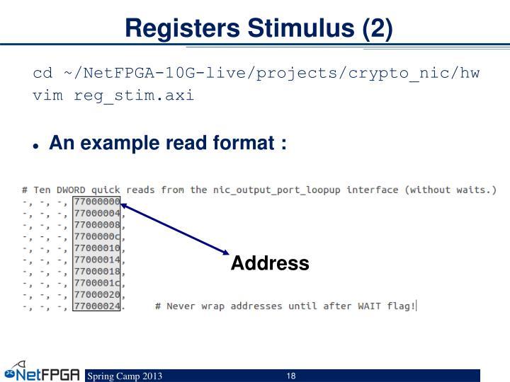 Registers Stimulus (2)