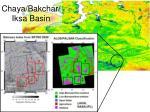 chaya bakchar iksa basin