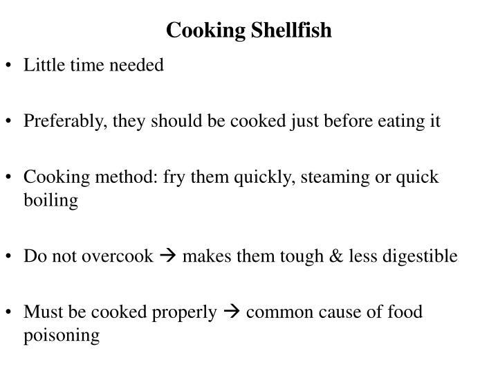 Cooking Shellfish