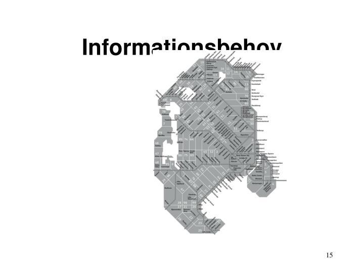 Informationsbehov