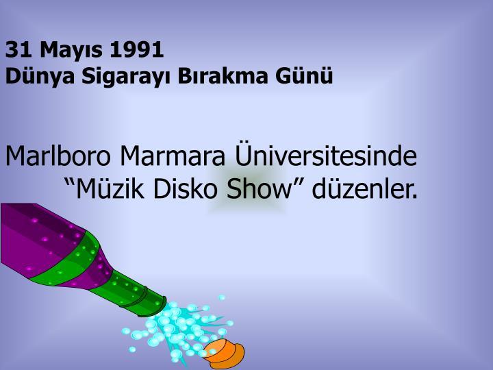 31 Mayıs 1991