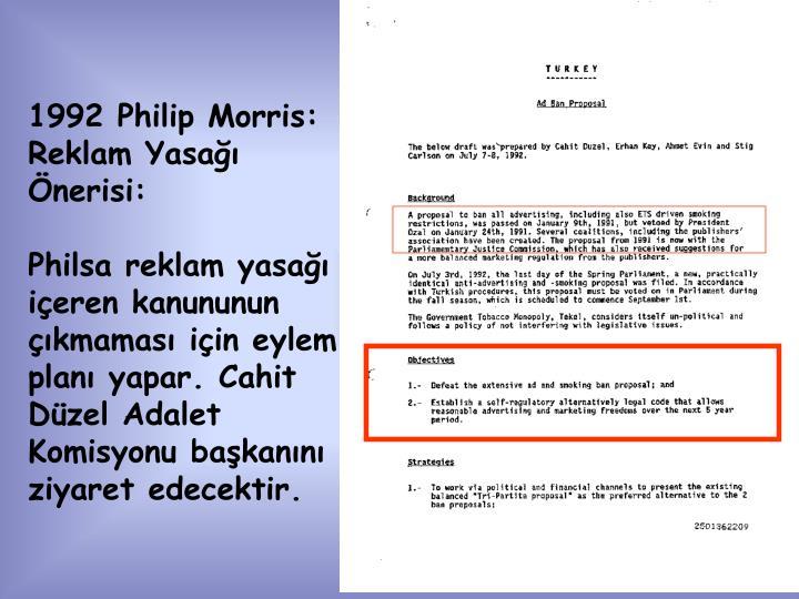 1992 Philip Morris: