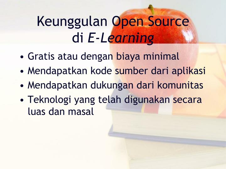 Keunggulan Open Source