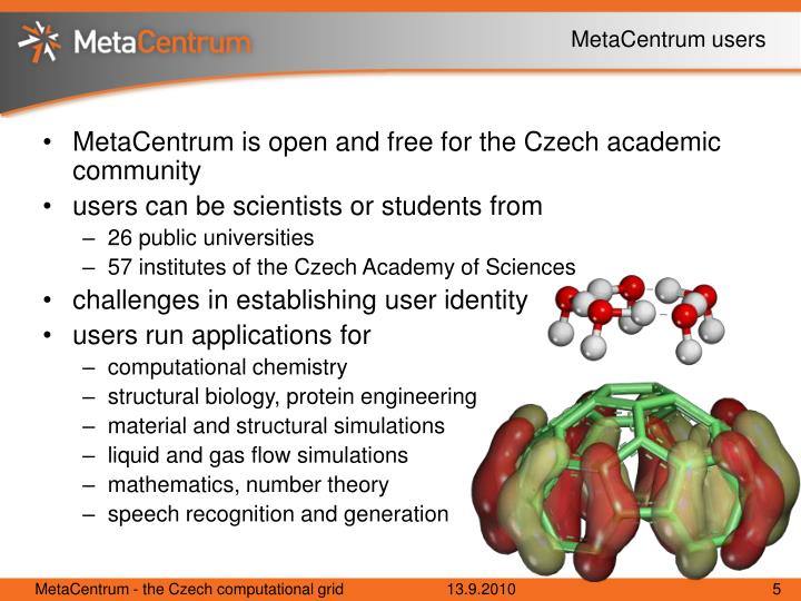 MetaCentrum users