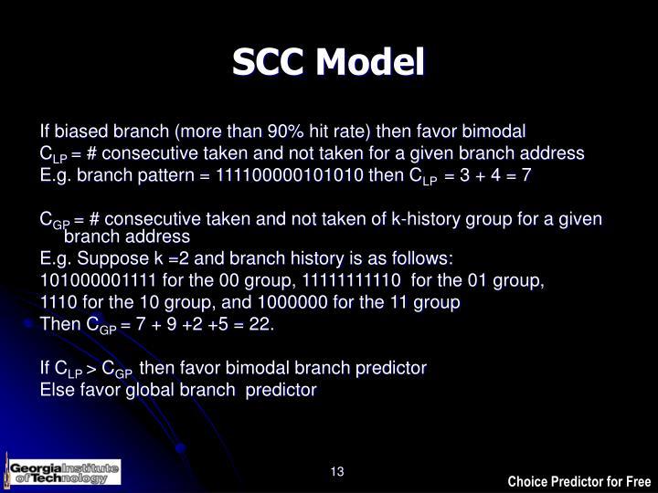 SCC Model