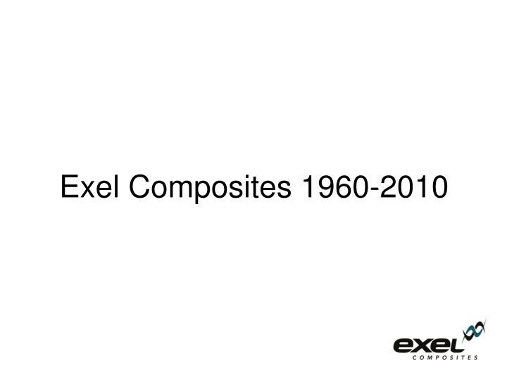 Exel Composites 1960-2010