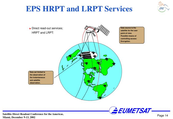 EPS HRPT and LRPT Services