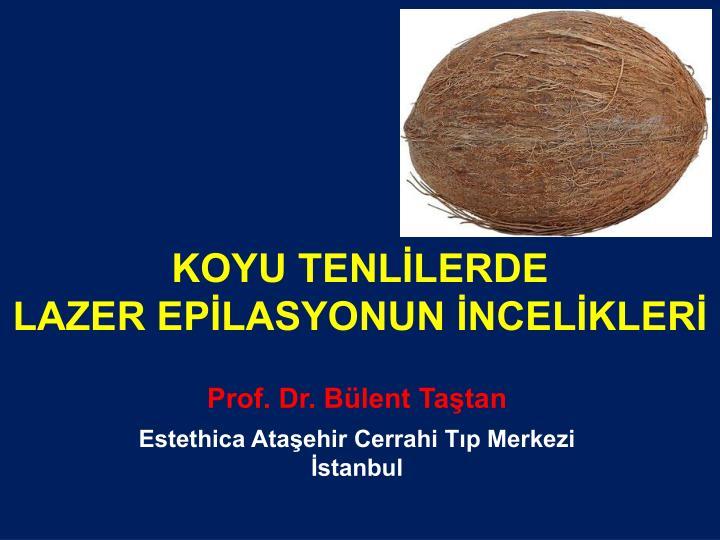 KOYU TENLİLERDE