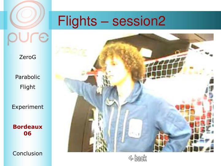 Flights – session2