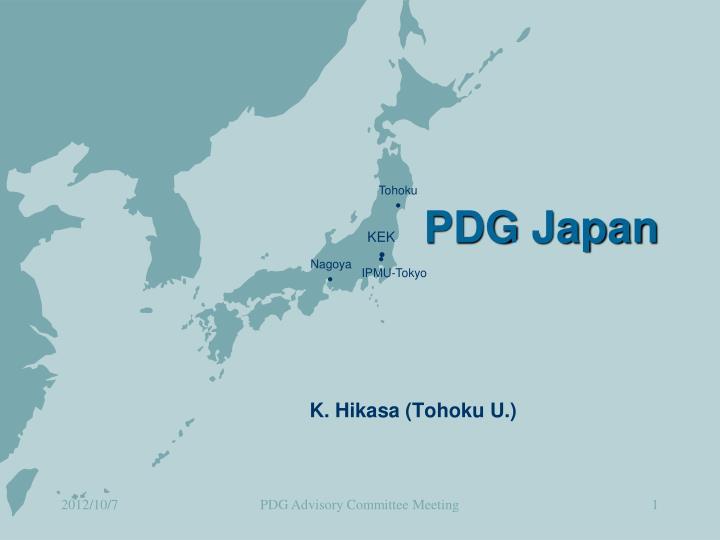 PDG Japan