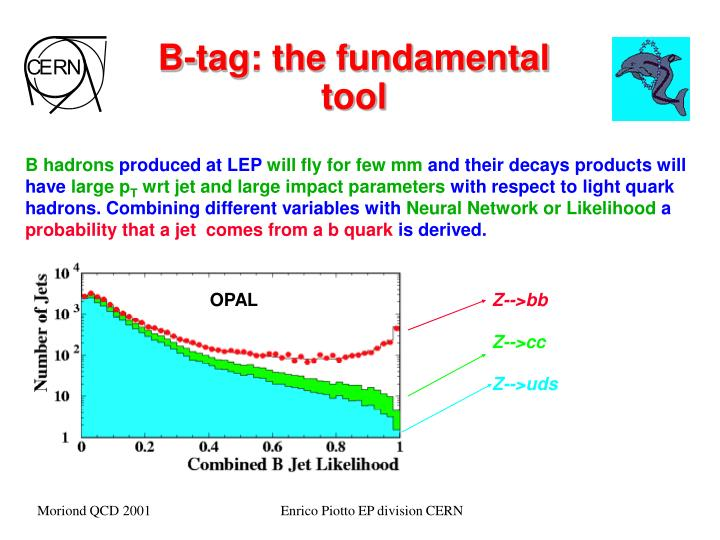 B-tag: the fundamental tool