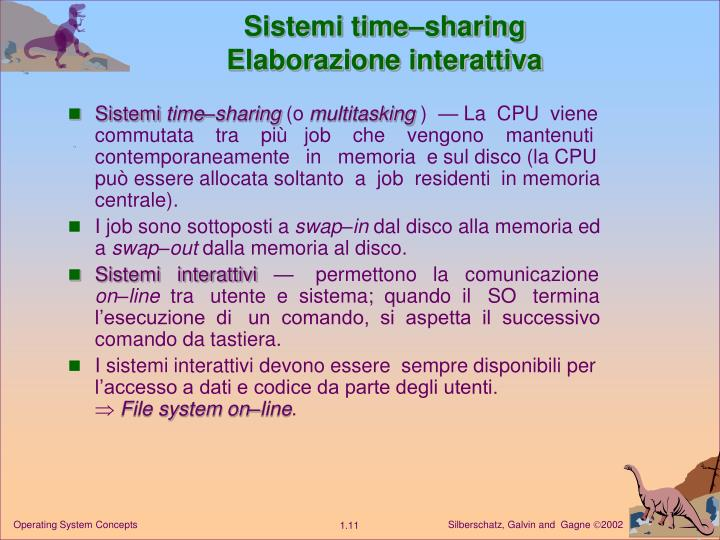 Sistemi time–sharing