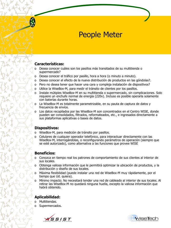 People Meter