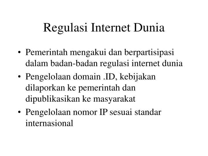 Regulasi Internet Dunia