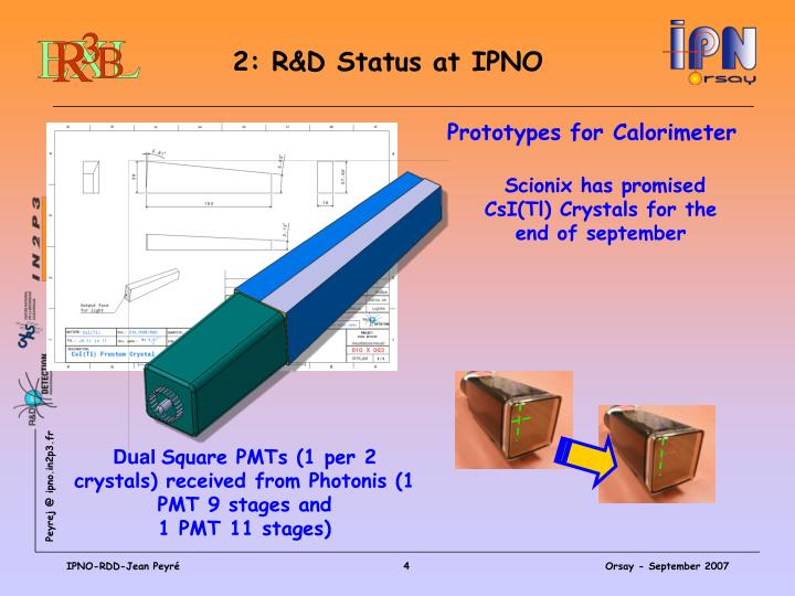 2: R&D Status at IPNO