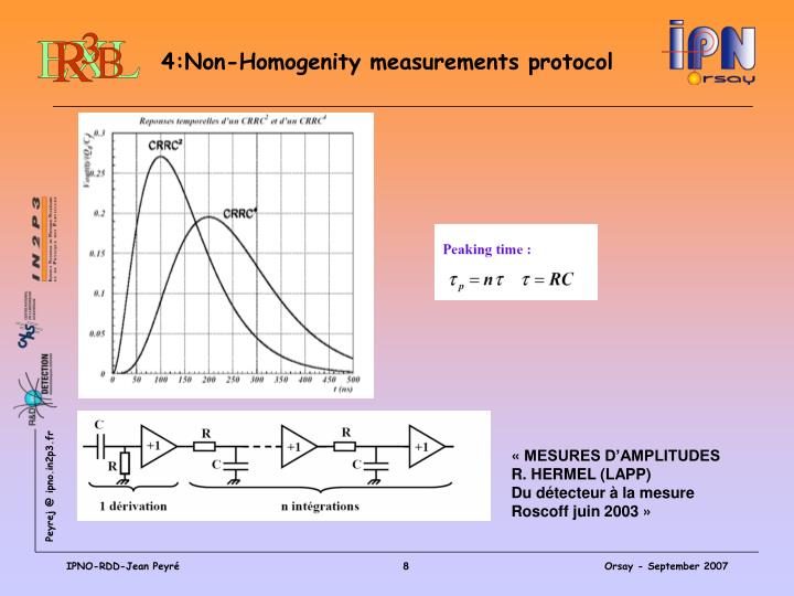 4:Non-Homogenity measurements protocol