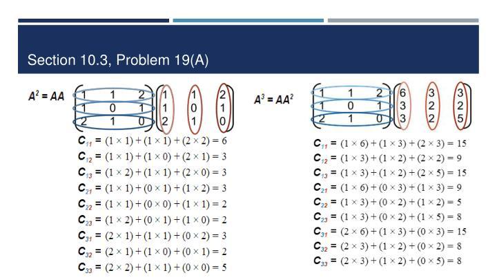 Section 10.3, Problem 19(A)