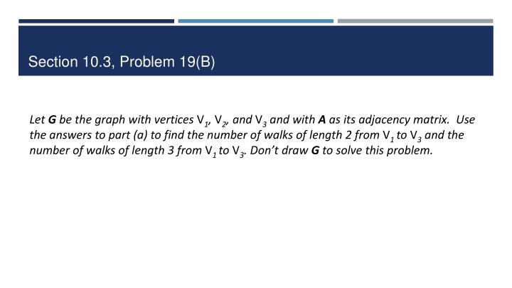 Section 10.3, Problem 19(B)