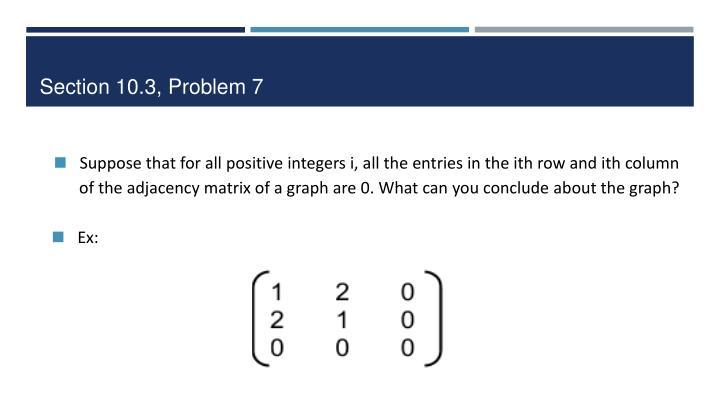 Section 10.3, Problem 7