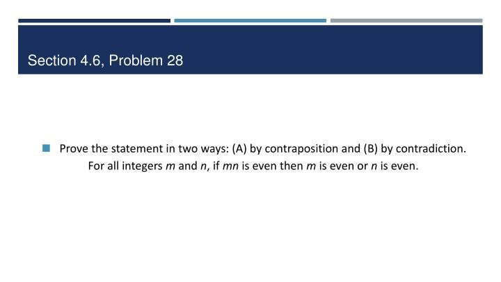 Section 4.6, Problem 28