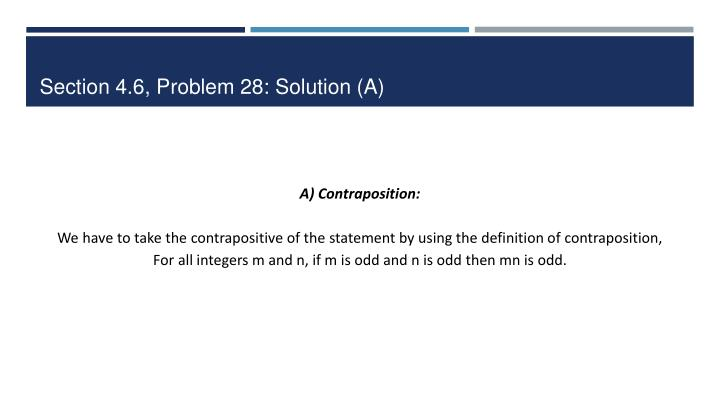 Section 4 6 problem 28 solution a