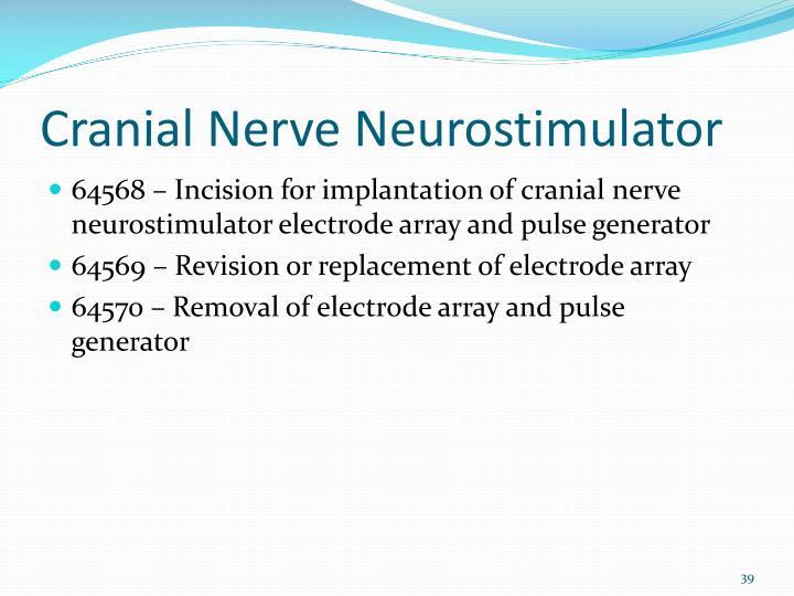 Cranial Nerve Neurostimulator