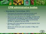 cpm administrative bodies2