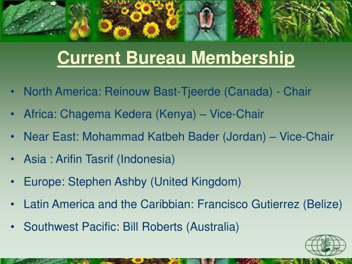 Current Bureau Membership