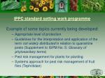 ippc standard setting work programme2