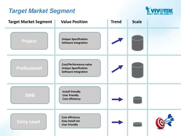 Target Market Segment