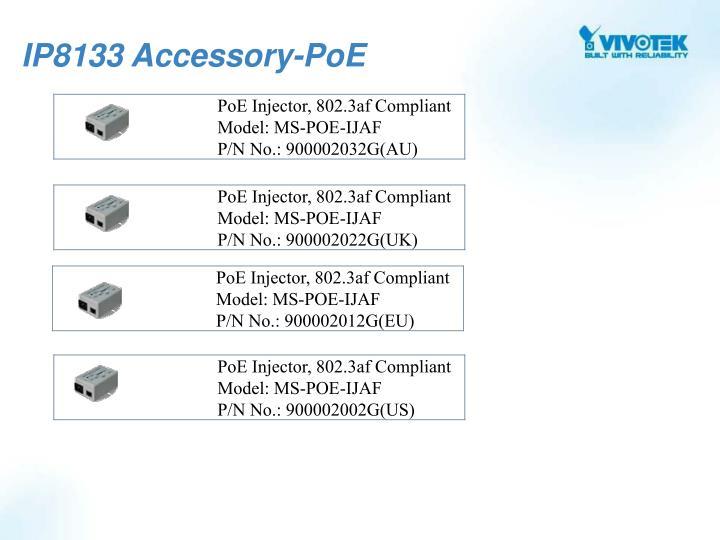 IP8133 Accessory-PoE