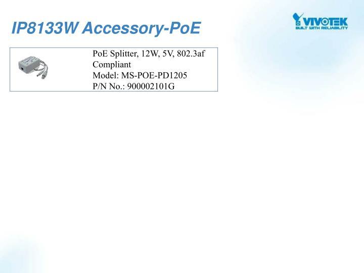 IP8133W Accessory-PoE