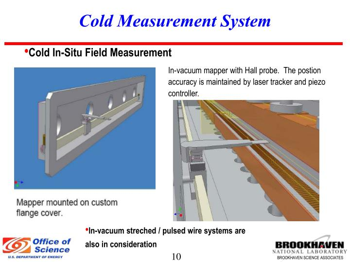 Cold Measurement System