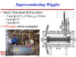 superconducting wiggler