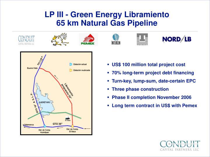 LP III - Green Energy Libramiento