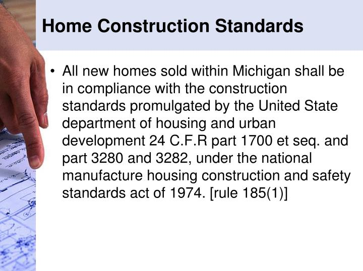 Home Construction Standards