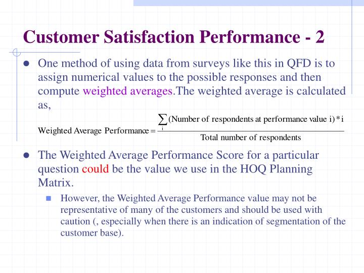 Customer Satisfaction Performance - 2