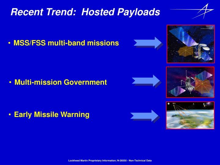 MSS/FSS multi-band missions